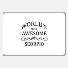 World's Most Awesome Scorpio Banner