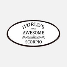 World's Most Awesome Scorpio Patches
