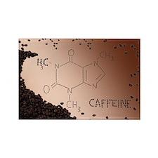 Caffeine Rectangle Magnet