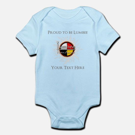 Personalized Proud to be Lumbee Body Suit