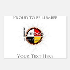 Personalized Proud to be Lumbee Postcards (Package
