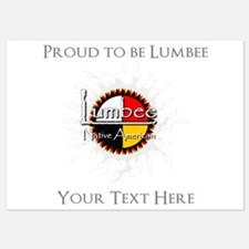 Personalized Proud to be Lumbee Invitations