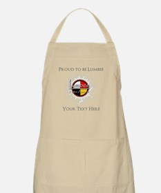 Personalized Proud to be Lumbee Apron
