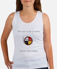 Personalized Proud to be Lumbee Tank Top