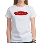 Cubanita Oval Red Women's T-Shirt