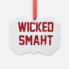 Wicked Smaht Ornament