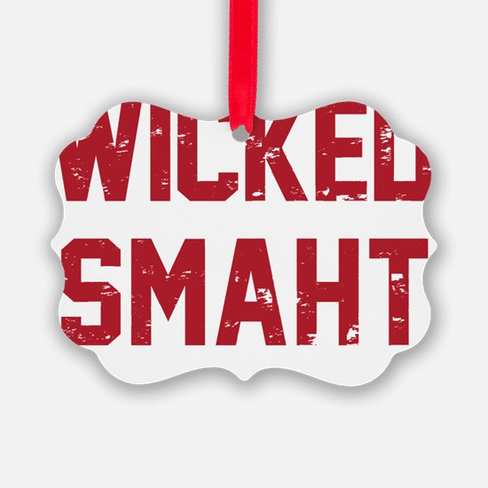 Wicked Smaht Ornament