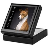 Basenji Keepsake Boxes