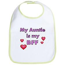 My Auntie Is My BFF Bib