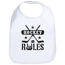 Hockey Rules Bib