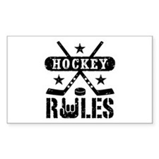 Hockey Rules Decal