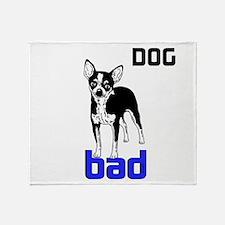 OYOOS Dog Bad design Throw Blanket