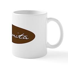 Cubanita Oval Brown Mug