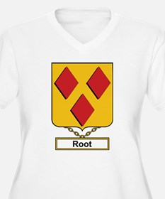 Root Family Crest Plus Size T-Shirt