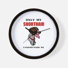 MY SHORTHAIR Wall Clock