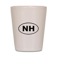 New Hampshire NH Shot Glass