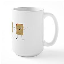 Dancing Toast Mug