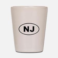 New Jersey NJ Shot Glass