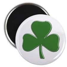 Crossed Stitched Look Shamrock Magnet