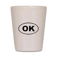 Oklahoma OK Shot Glass