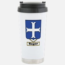 Seger Family Crest Travel Mug