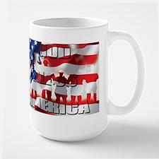 PATRIOTIC GOD BLESS AMERICA Mugs