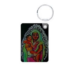 Guadalupe Art Keychains