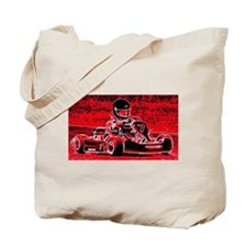 Kid Karts are red RED hot Tote Bag