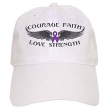 Epilepsy Courage Wings Baseball Cap