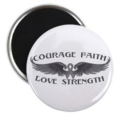 "Diabetes Courage Wings 2.25"" Magnet (10 pack)"