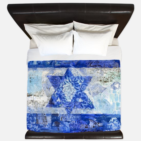 Flag of Israel King Duvet