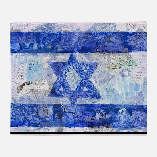 Flag of Israel Throw Blanket