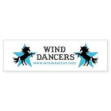 Wind Dancers Website Bumper Bumper Sticker