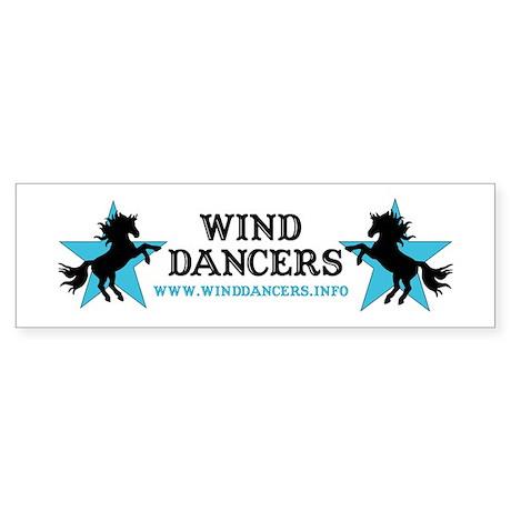 Wind Dancers Website Bumper Sticker