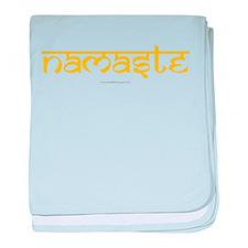 Namaste Yoga Ohm baby blanket