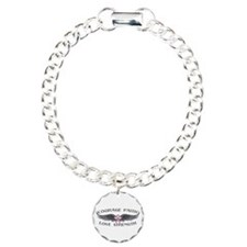 Breast Cancer Courage Wings Bracelet