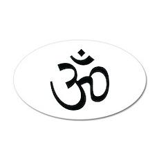 Yoga Ohm, Om Symbol, Namaste Wall Decal