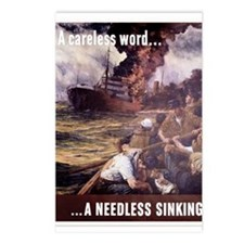 A Careless Word Postcards (Package of 8)