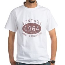 1964 Vintage Birthday (red) Shirt