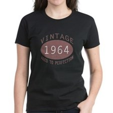 1964 Vintage Birthday (red) Tee