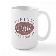 1964 Vintage Birthday (red) Mug