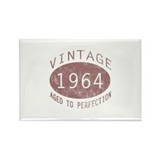 1964 Vintage Birthday (red) Rectangle Magnet