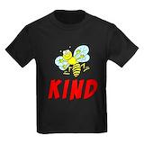 Bee kind Kids T-shirts (Dark)