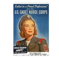 U.S. Cadet Nurse Corps Postcards (Package of 8)