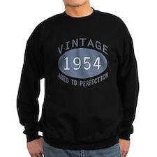 1954 Vintage Birthday (blue) Sweatshirt