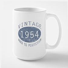 1954 Vintage Birthday (blue) Mug