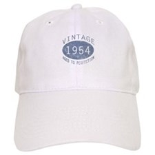 1954 Vintage Birthday (blue) Baseball Cap