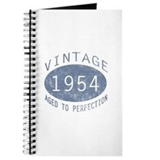 1954 Vintage Birthday (blue) Journal