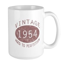 1954 Vintage Birthday (red) Mug