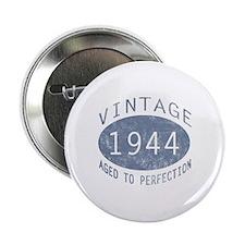 """1944 Vintage Birthday (blue) 2.25"""" Button"""